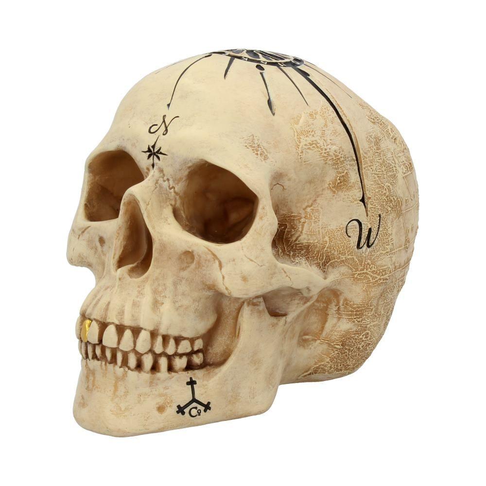 Dead Man's Map Skull