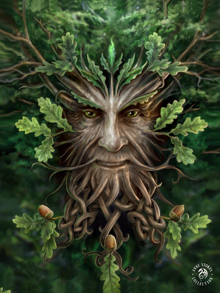 Oak King 3D Print (Anne Stokes)