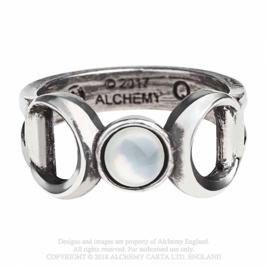 Triple Goddess Ring