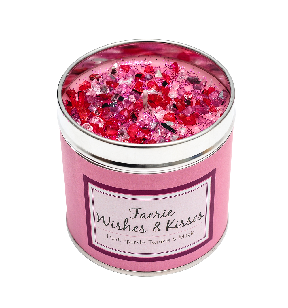 Faerie Wishes & Kisses Sparkling Candle