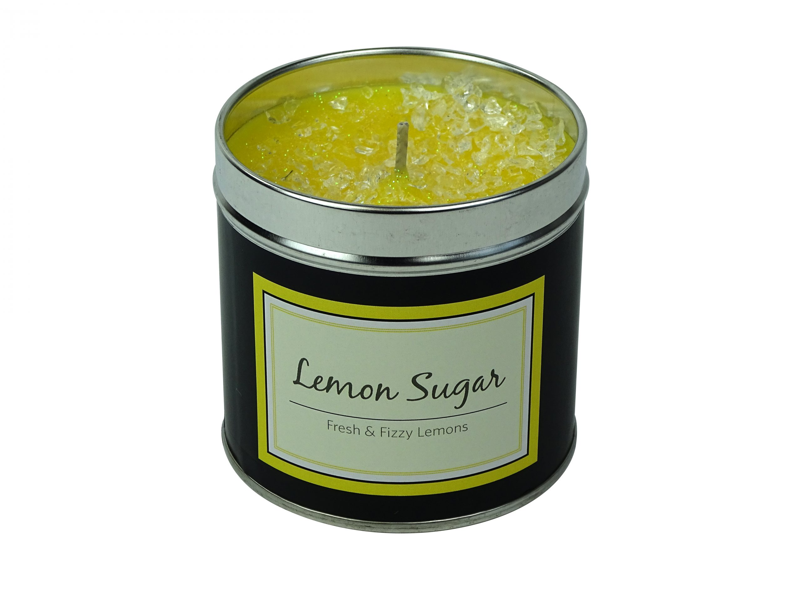 Lemon Sugar Sparkling Candle