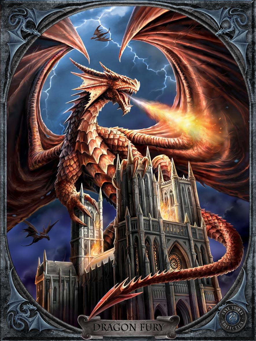 Dragon Fury 3D Print