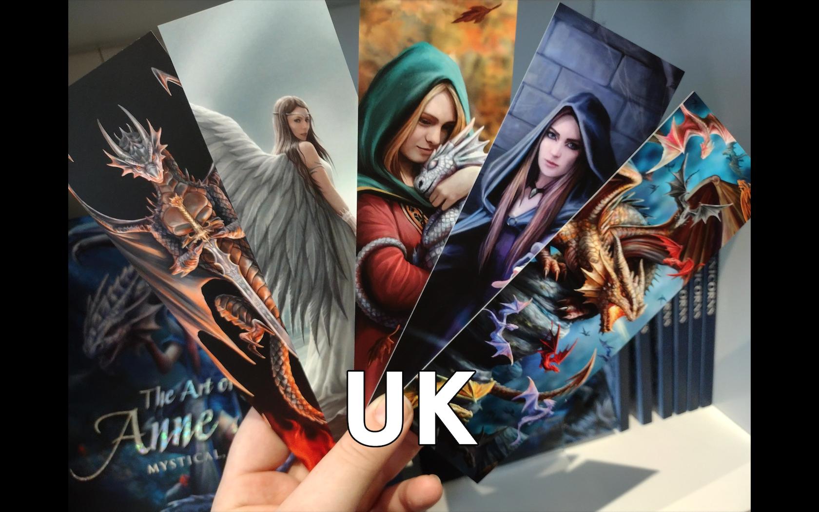 Nathan's Bookmarks (UK)