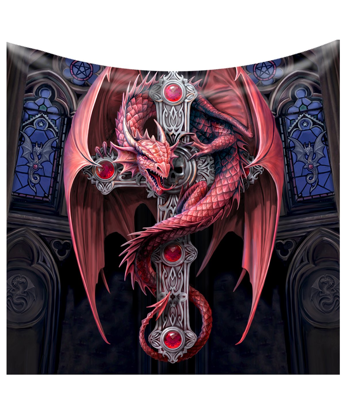 Gothic Guardian Blanket (Anne Stokes)
