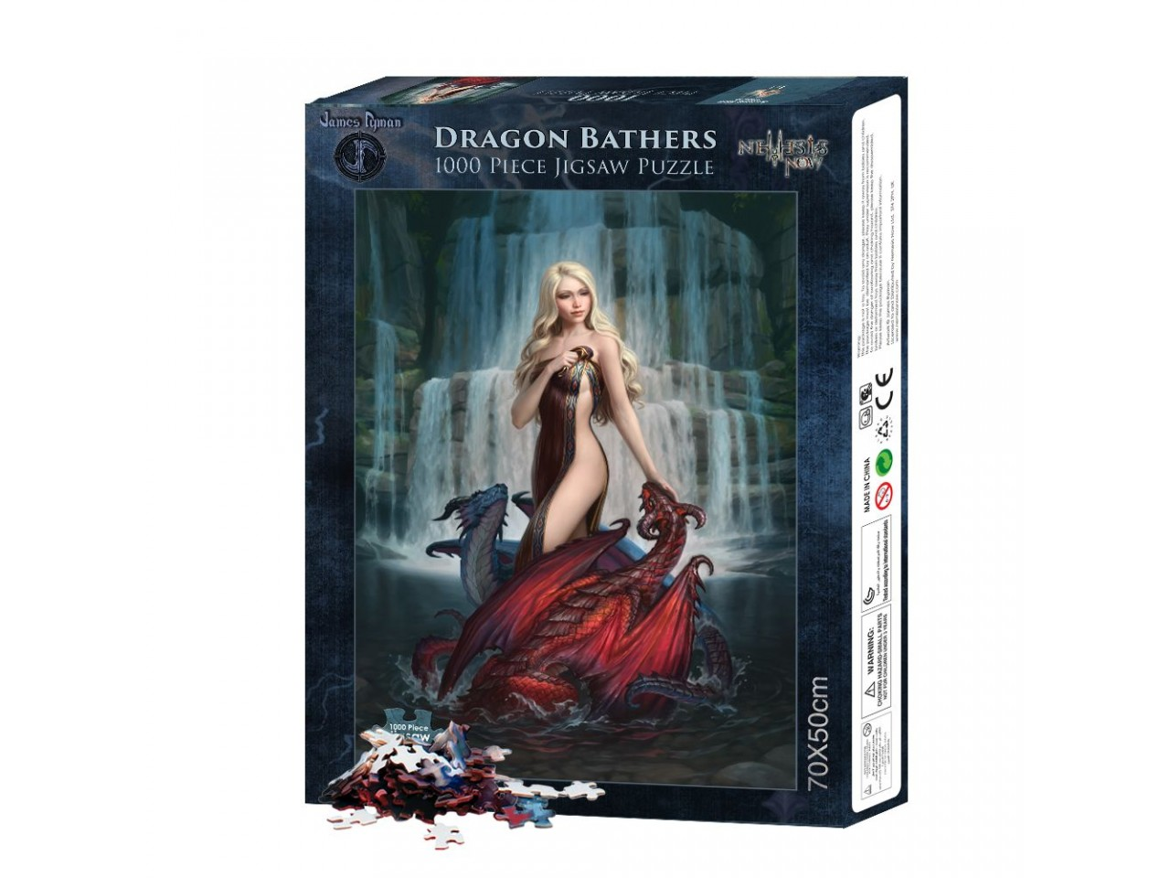 Dragon Bathers Jigsaw Puzzle
