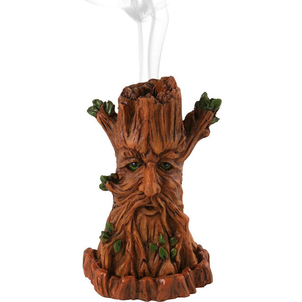 Green Man Incense Burner