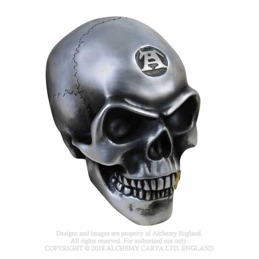 Metalised Alchemist Skull