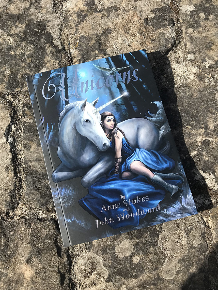 Unicorns Book by Anne Stokes & John Woodward