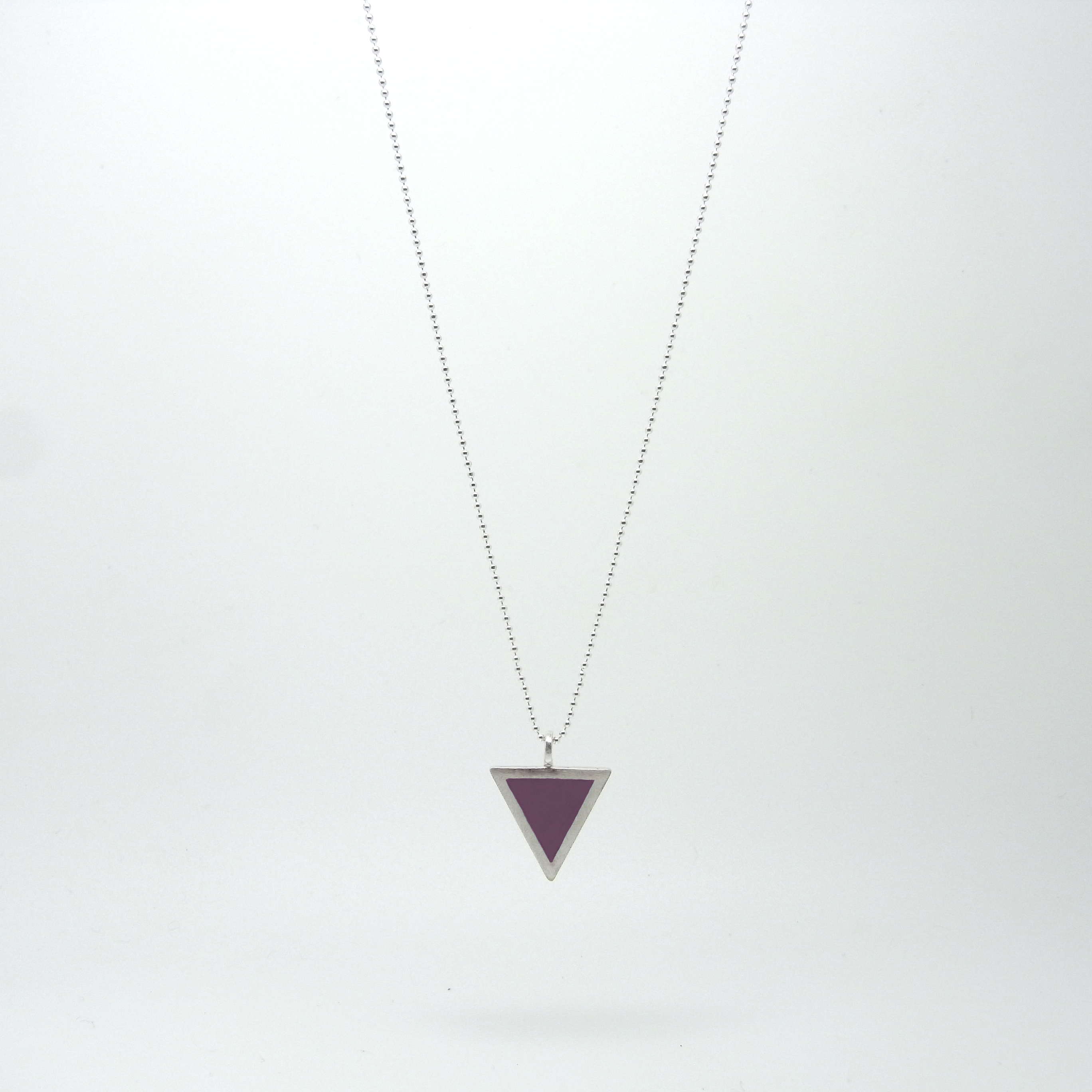 Triangle Necklace (made to order)