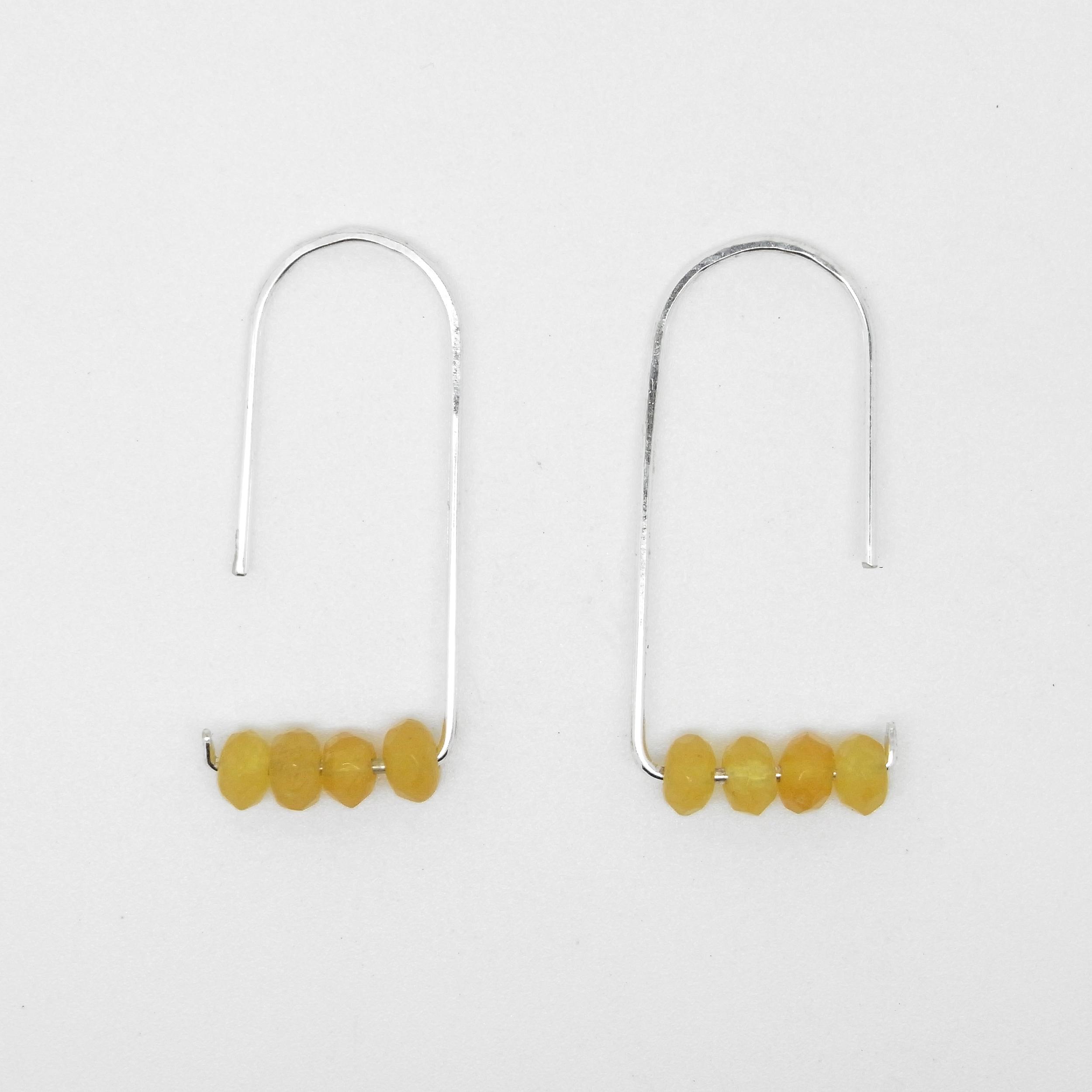 Lemon Jasper Earrings