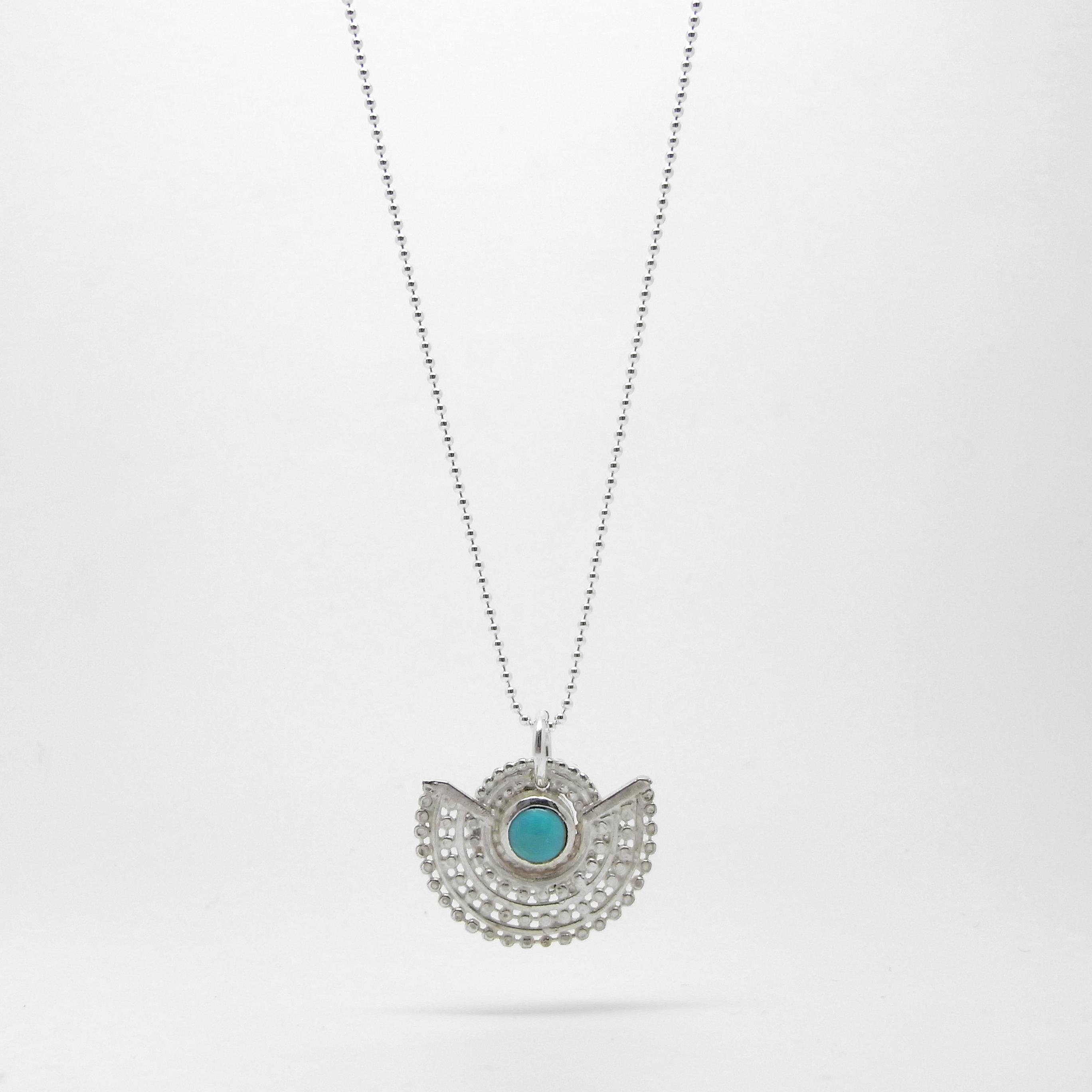 Deco Necklace - Amazonite S