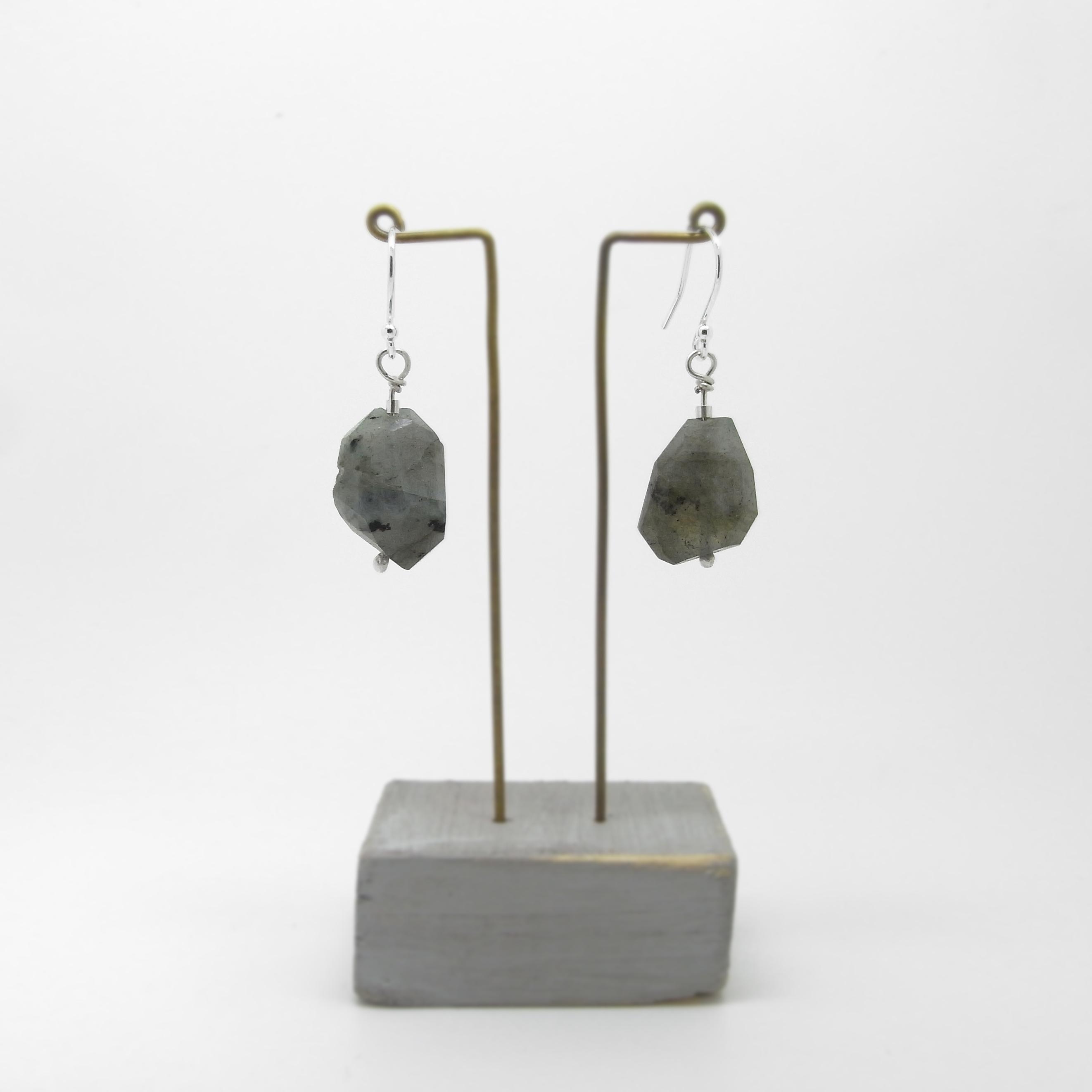 SALE - Labradorite Earrings