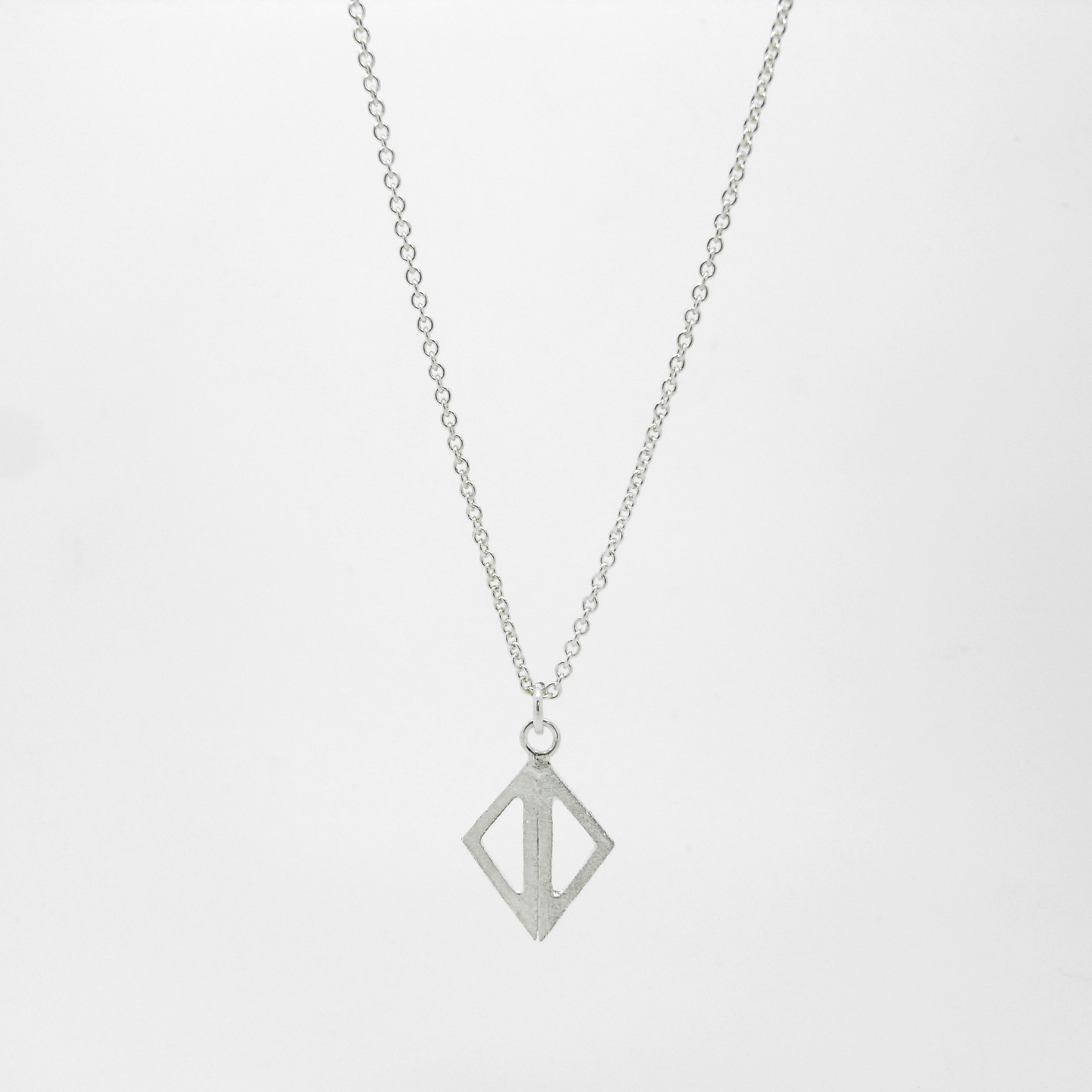SALE - Double Triangle Necklace