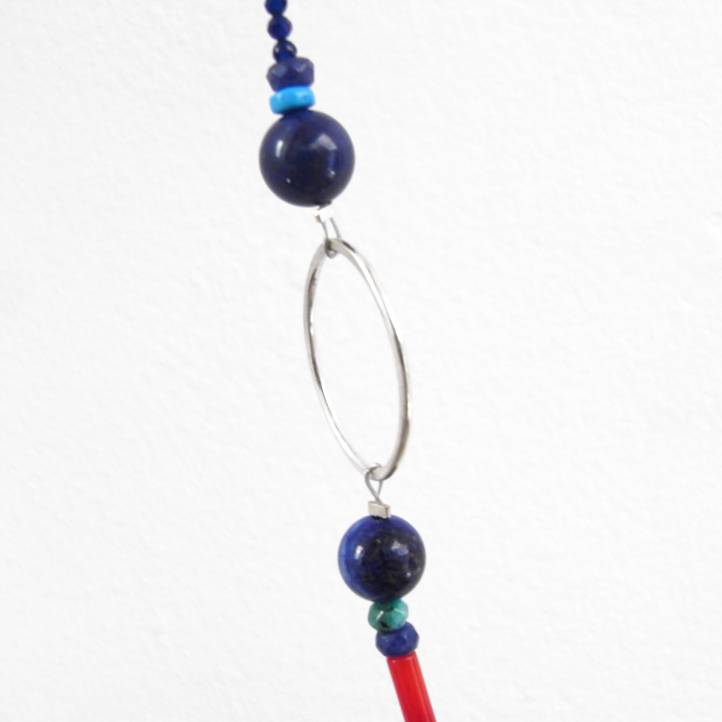 SALE - Semi Precious Bead Necklace