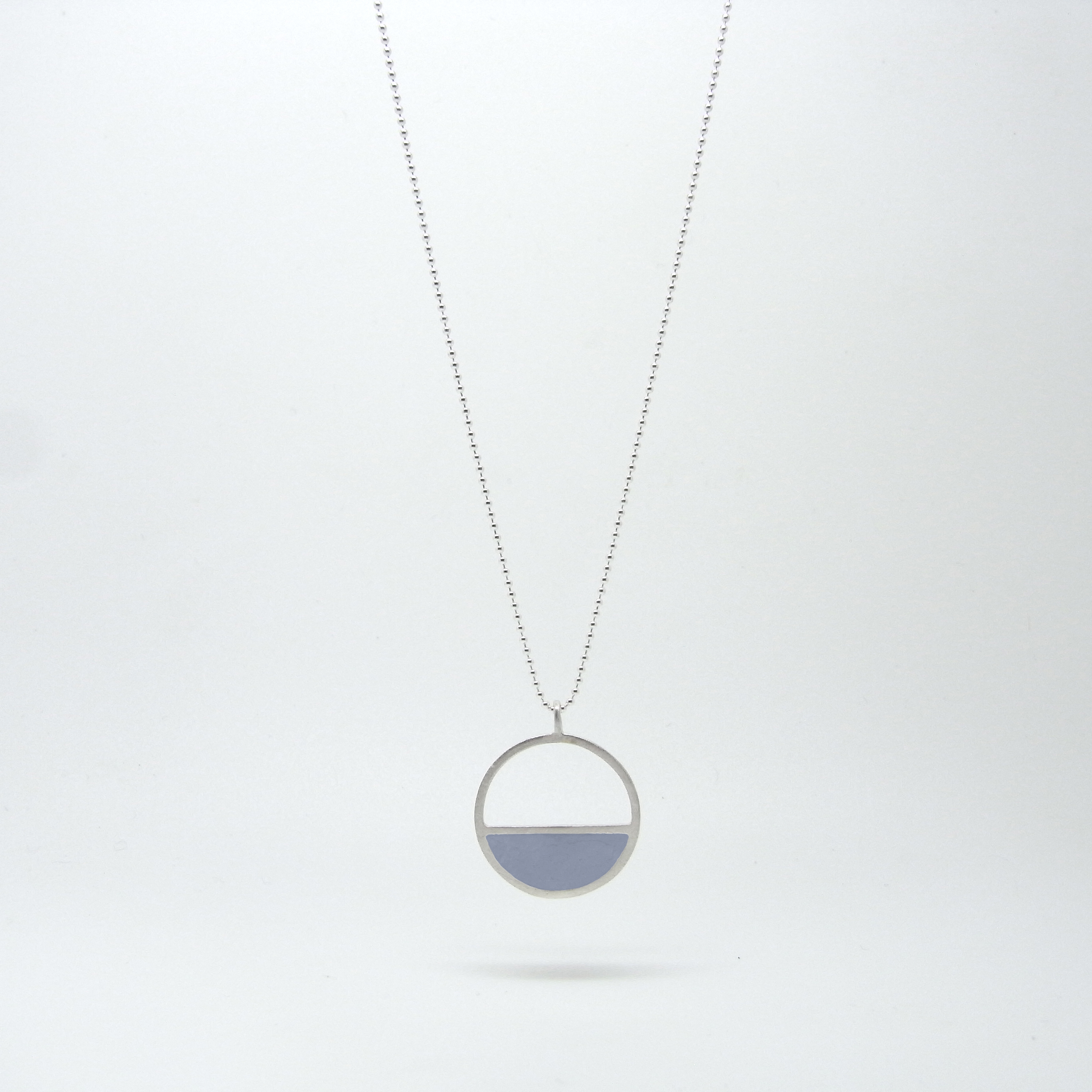 Semi Circle Necklace (made to order)