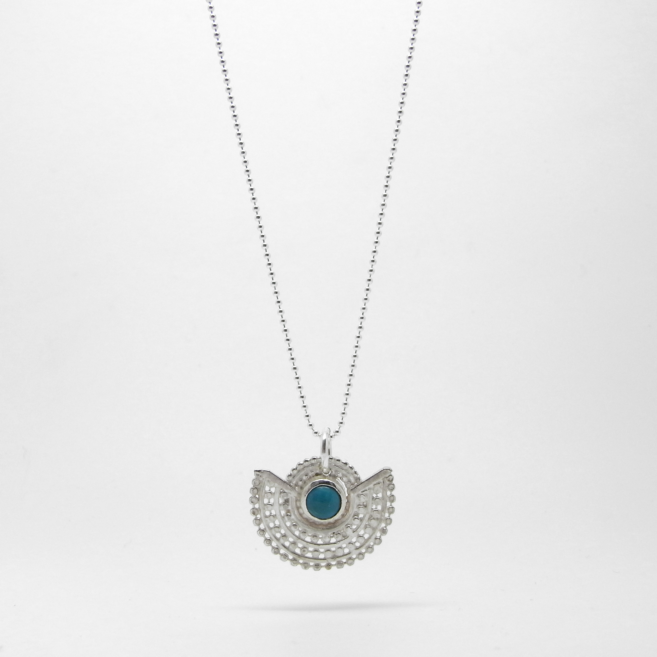 Deco Necklace - Turquoise S