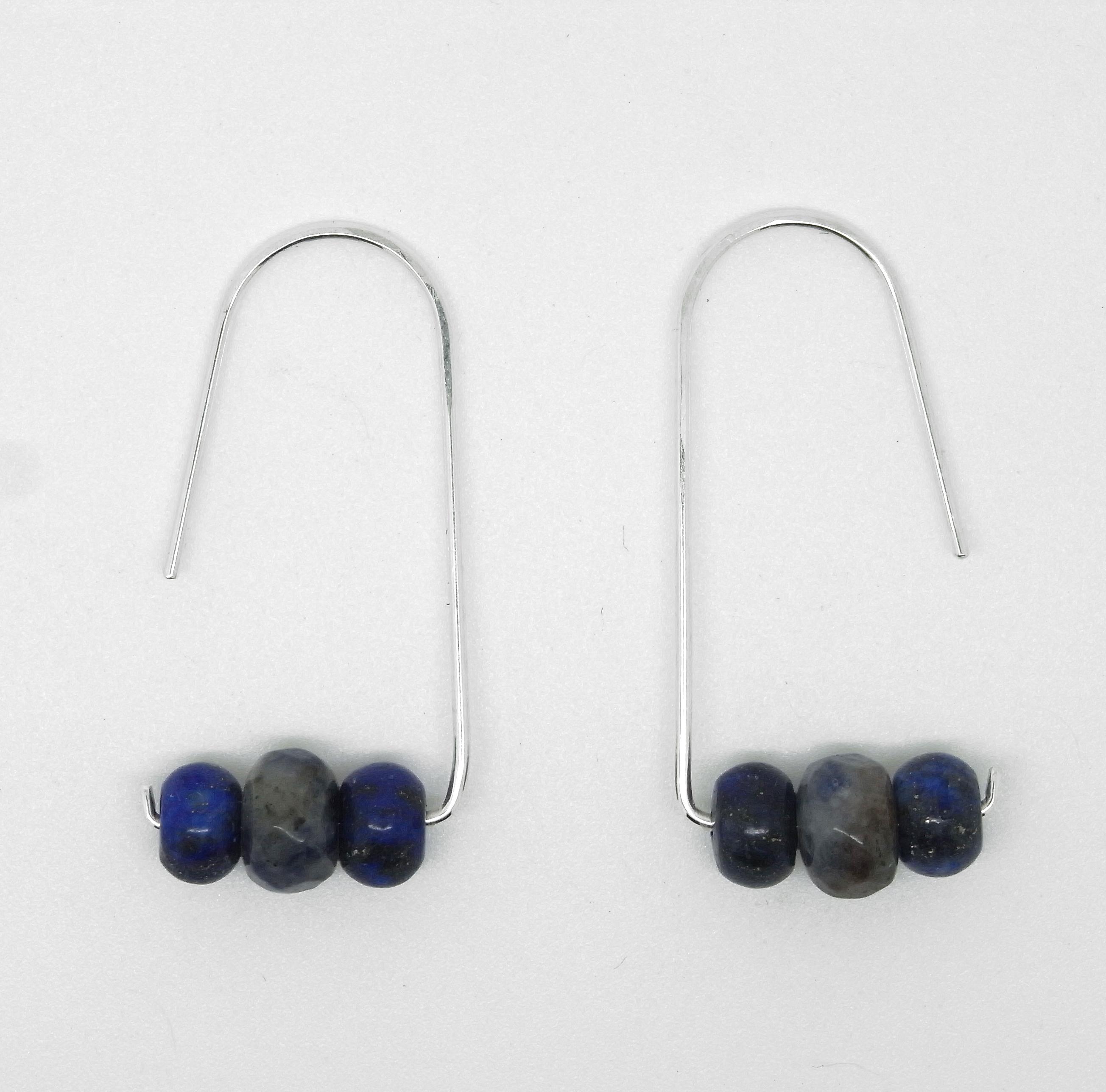 Lapis Lazuli Earrings 3