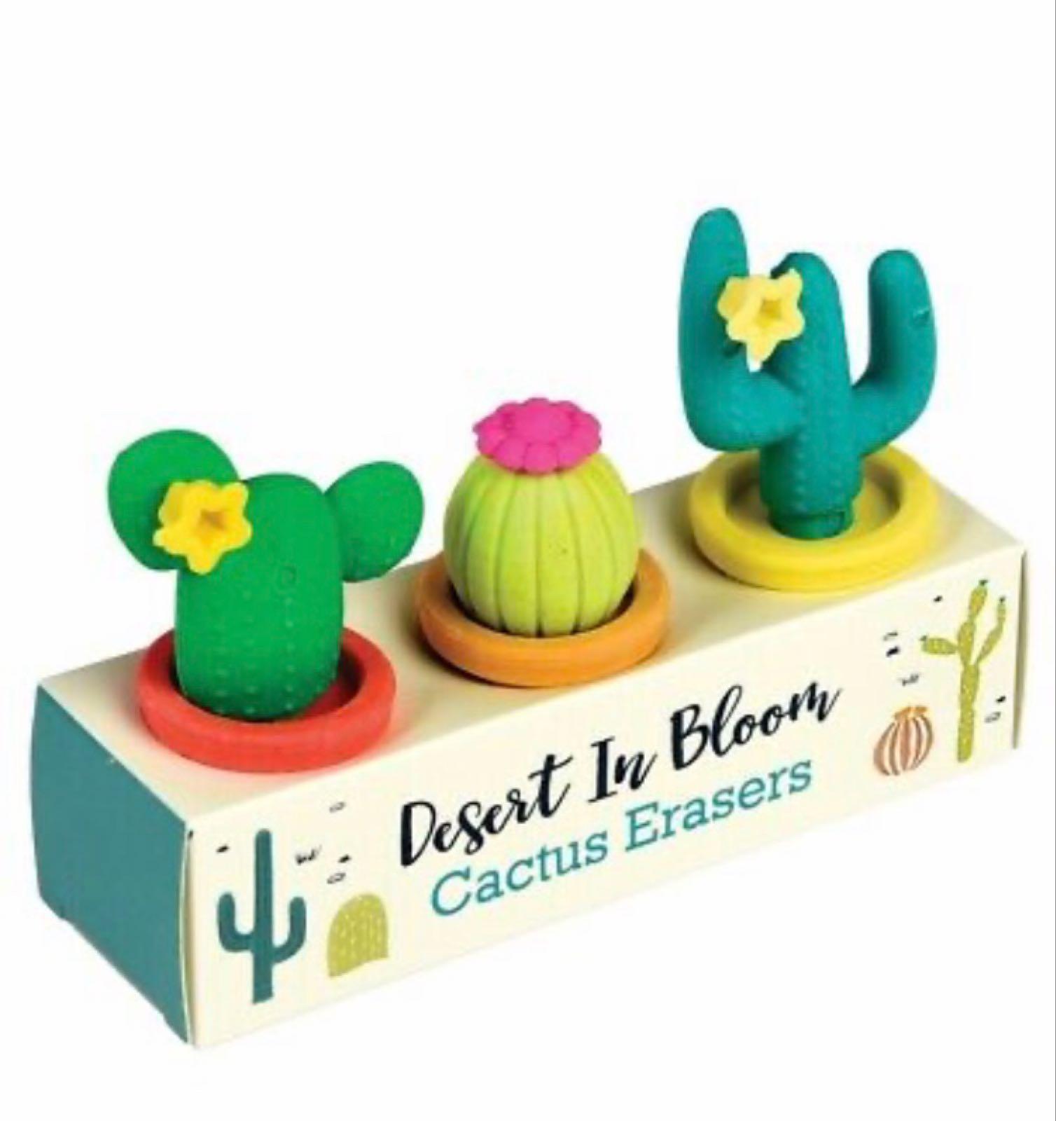 *Sale* Cactus Erasers