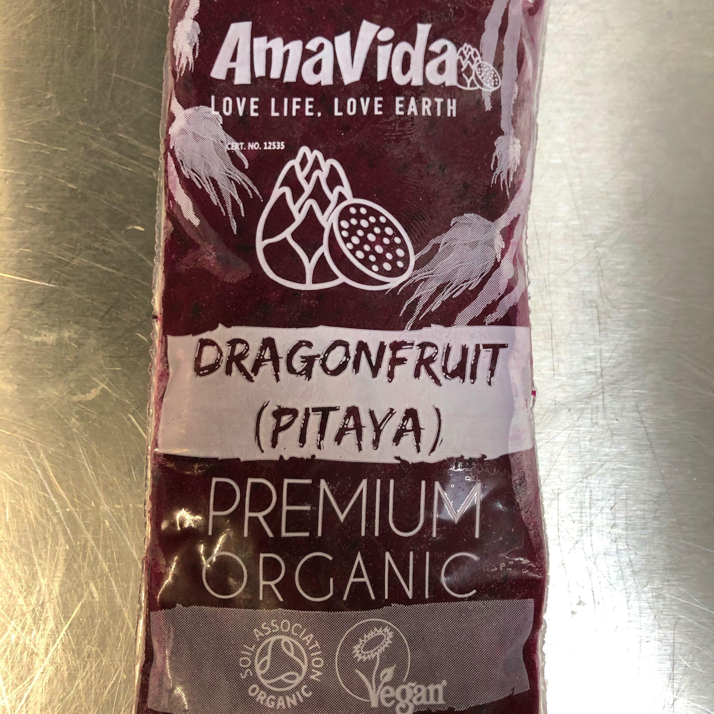 Frozen Purple Dragon Fruit (100g)