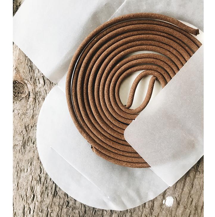 Handmade Incense Coil
