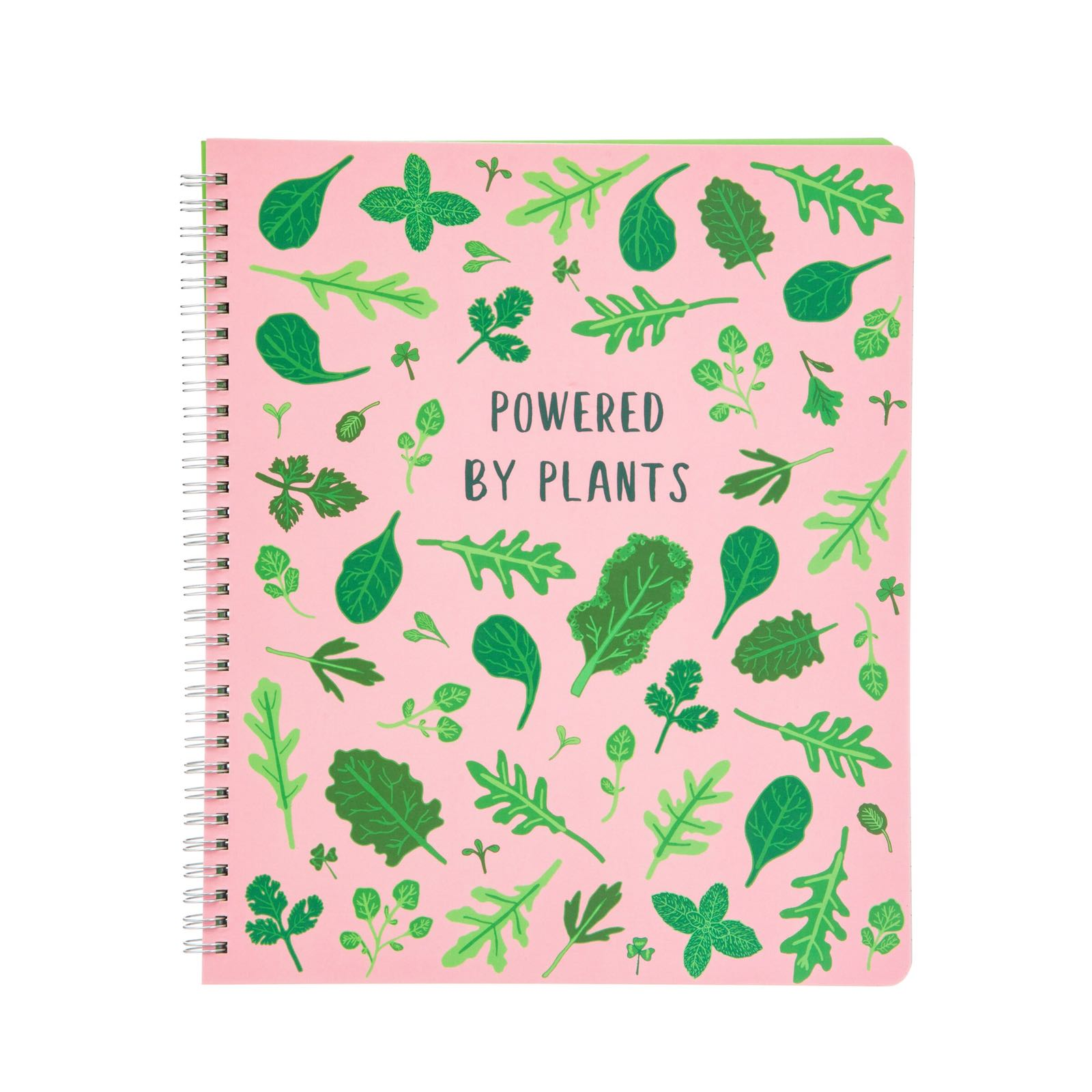 Powered By Plants A4 Notebook (Was £9.50)