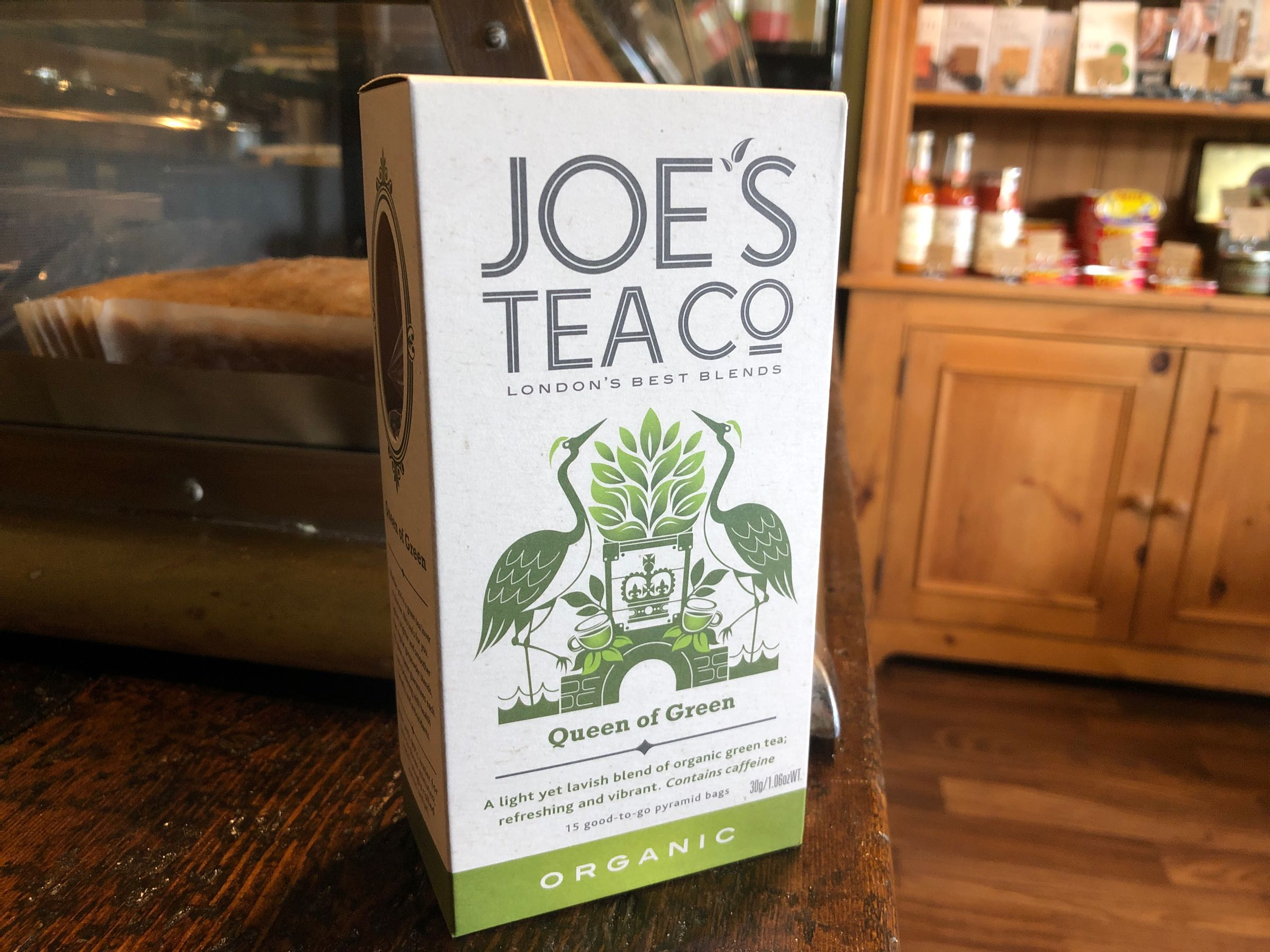 Joe's Tea Co. Queen of Green - Organic