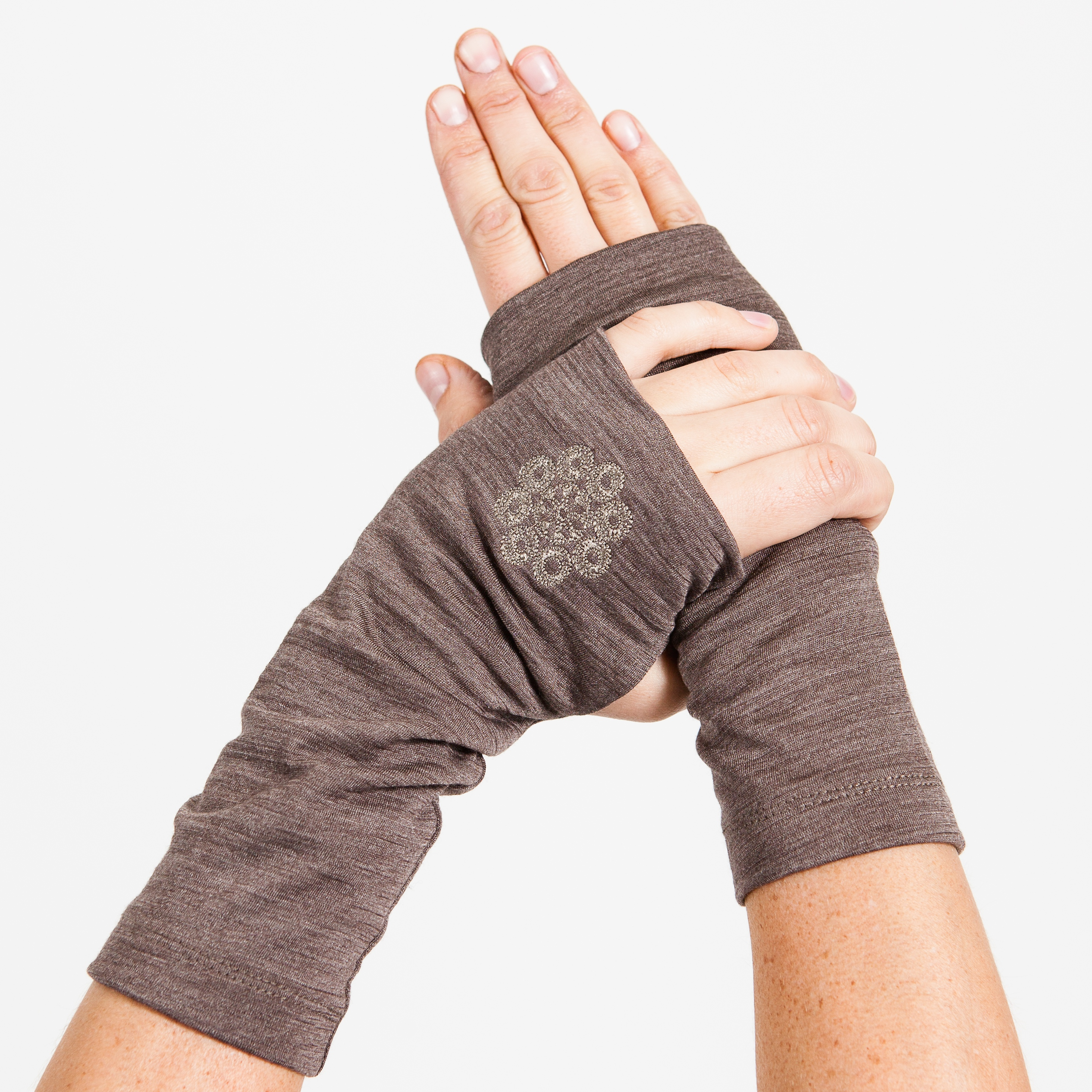 Light Wrist Gaiters- Earth Brown