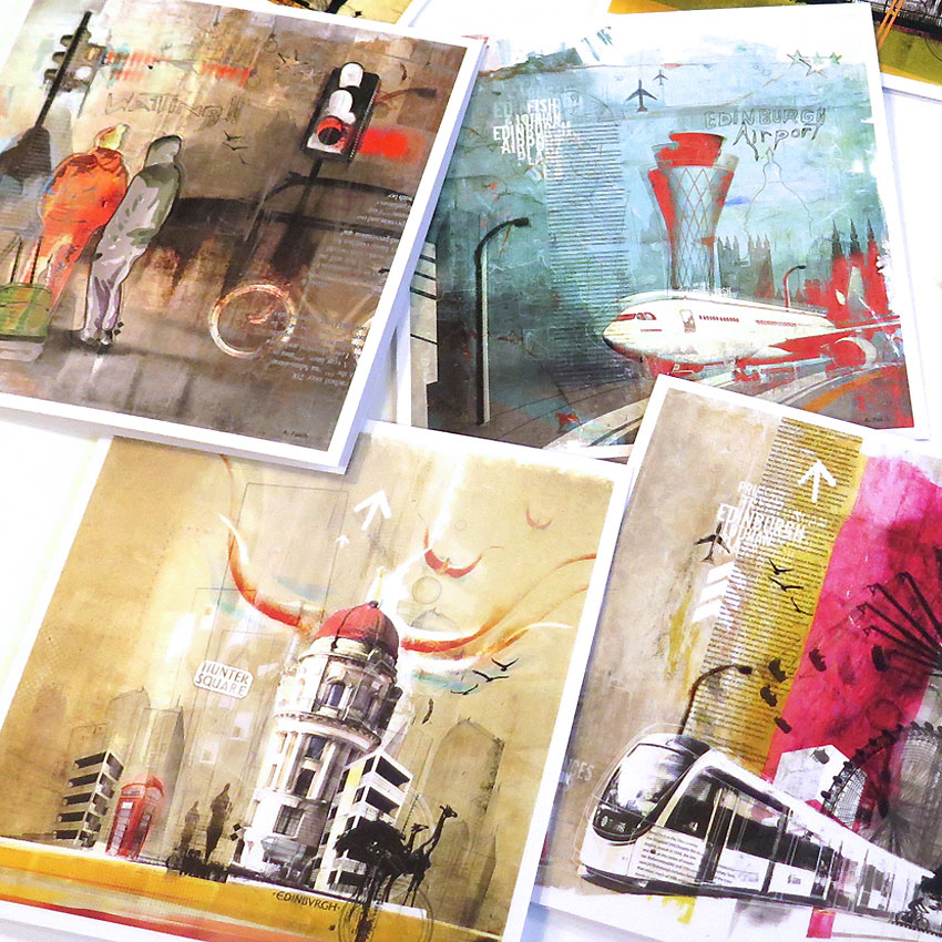 EDINBURGH 8 SPECIAL CARDS