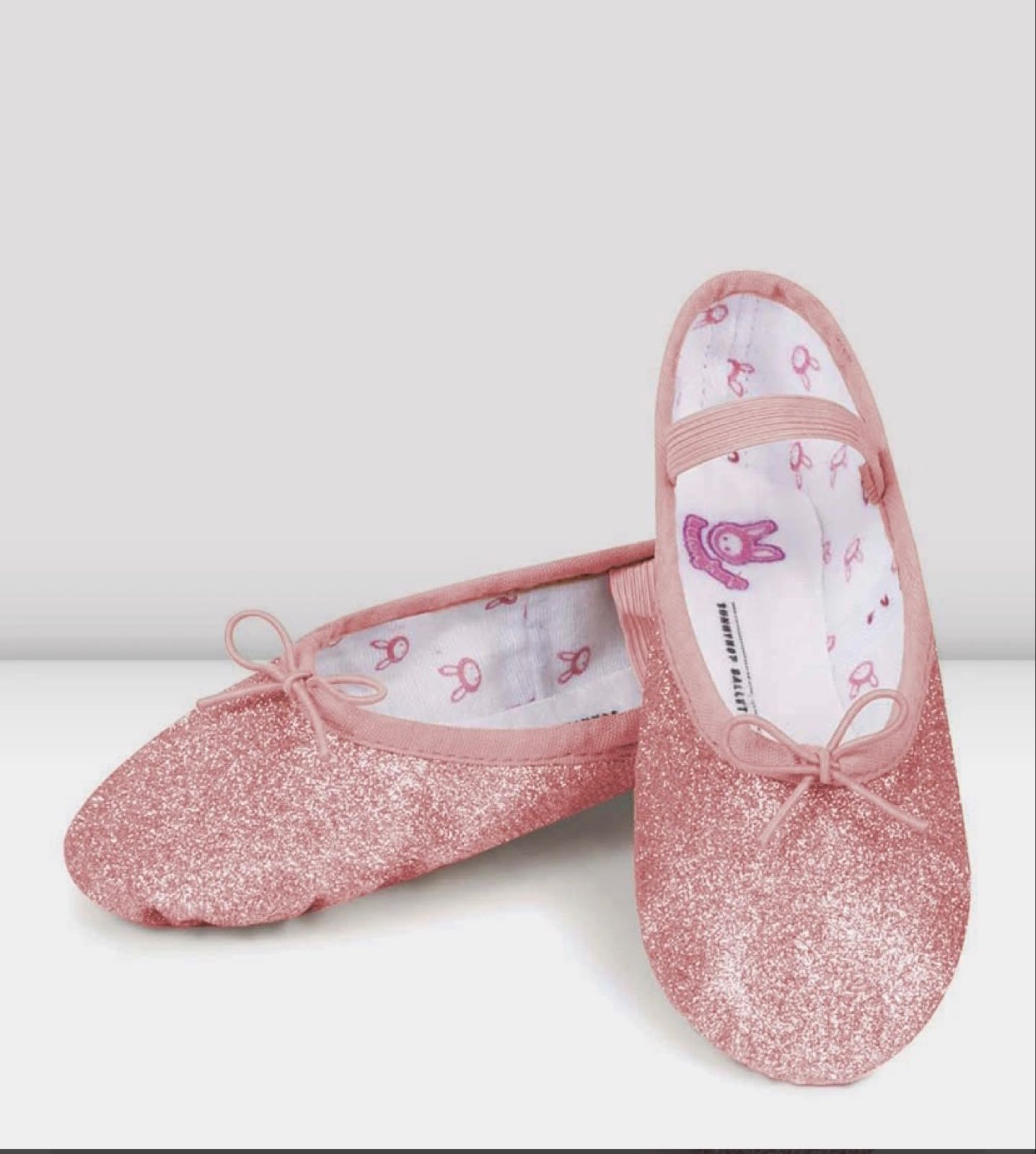 Glitterdust Ballet Shoes