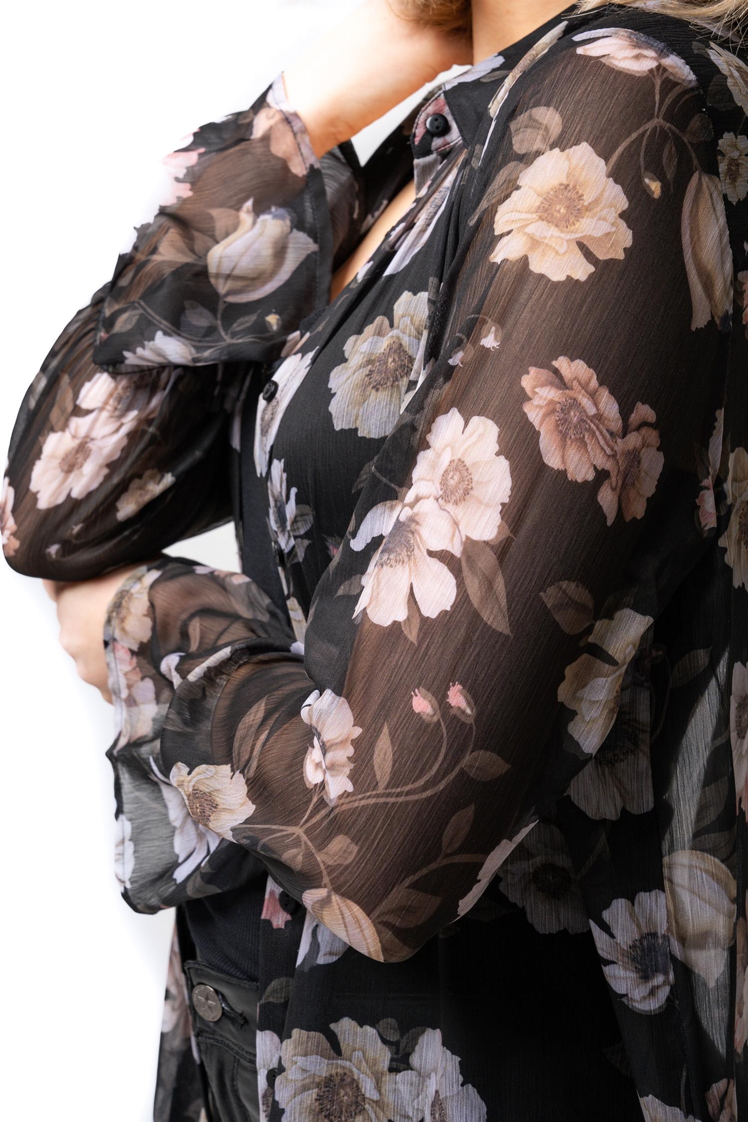 Amina  long shirt
