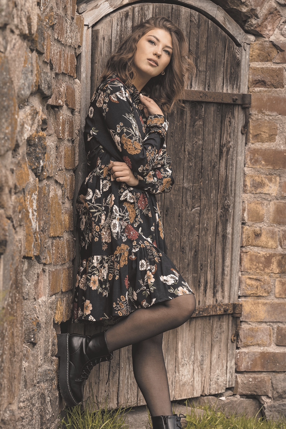 Marcella dress, Black honeyrose