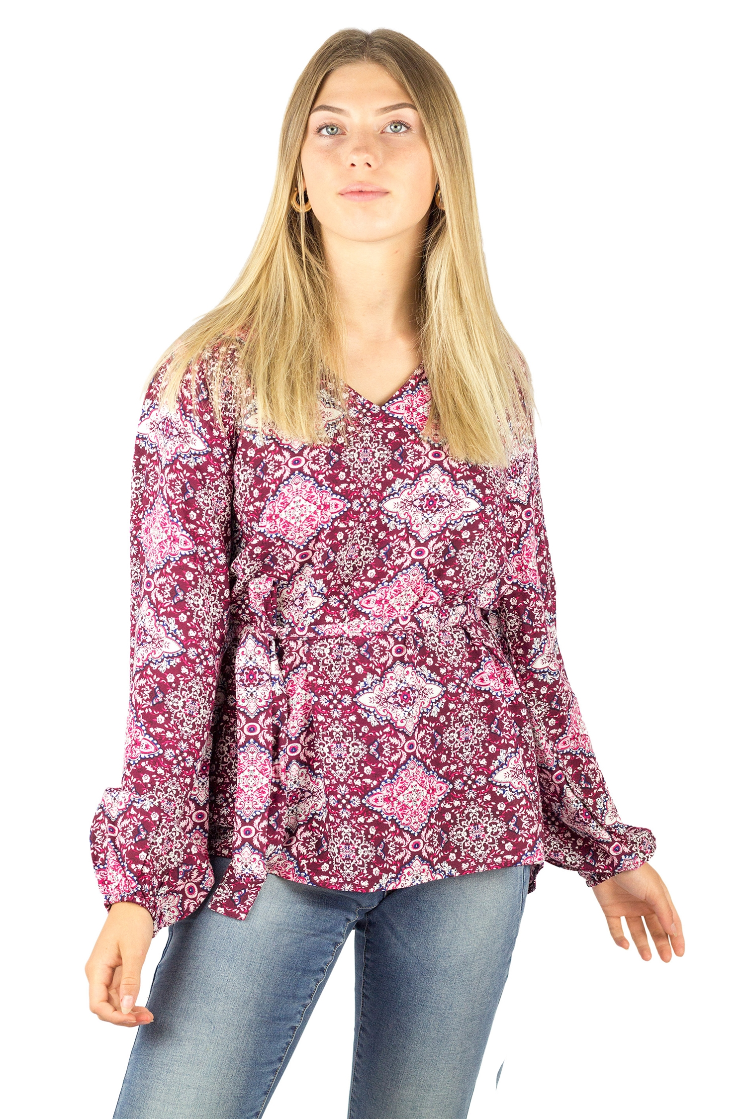 Estelle tunic, candy pink