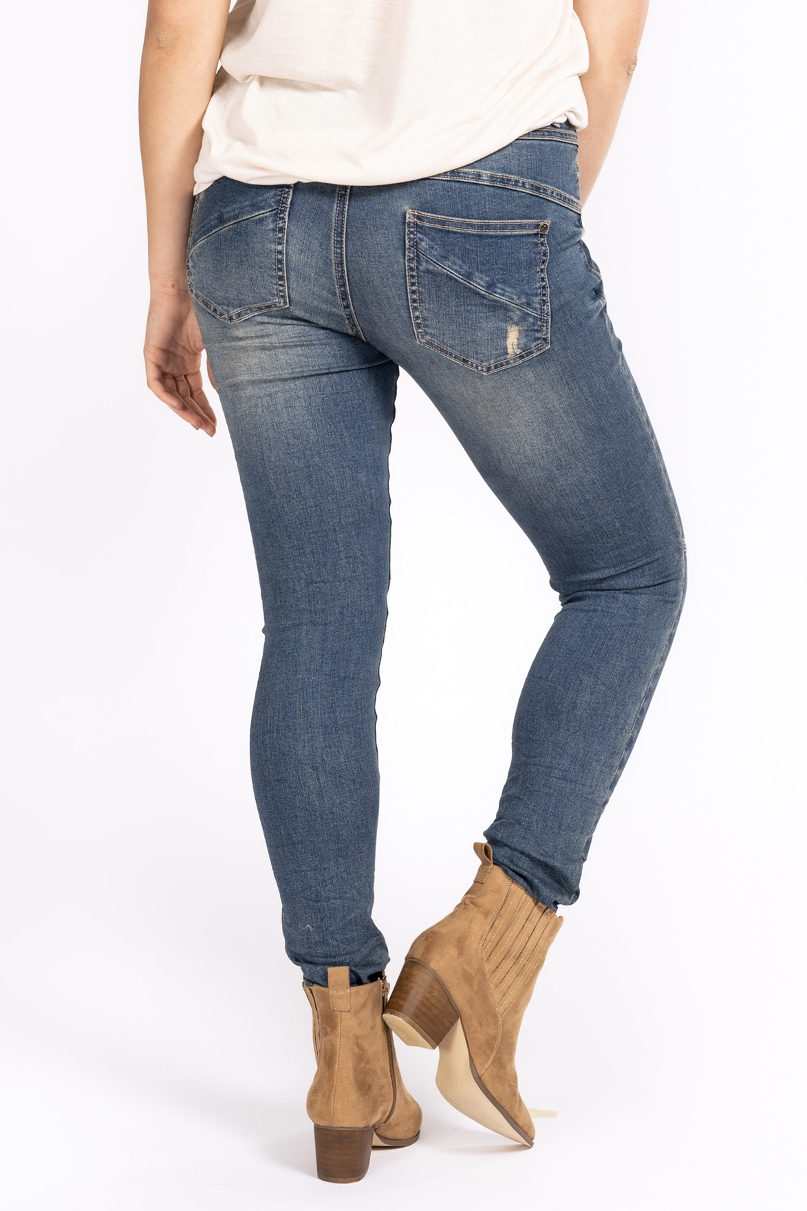 Liberte jeans, Blue denim