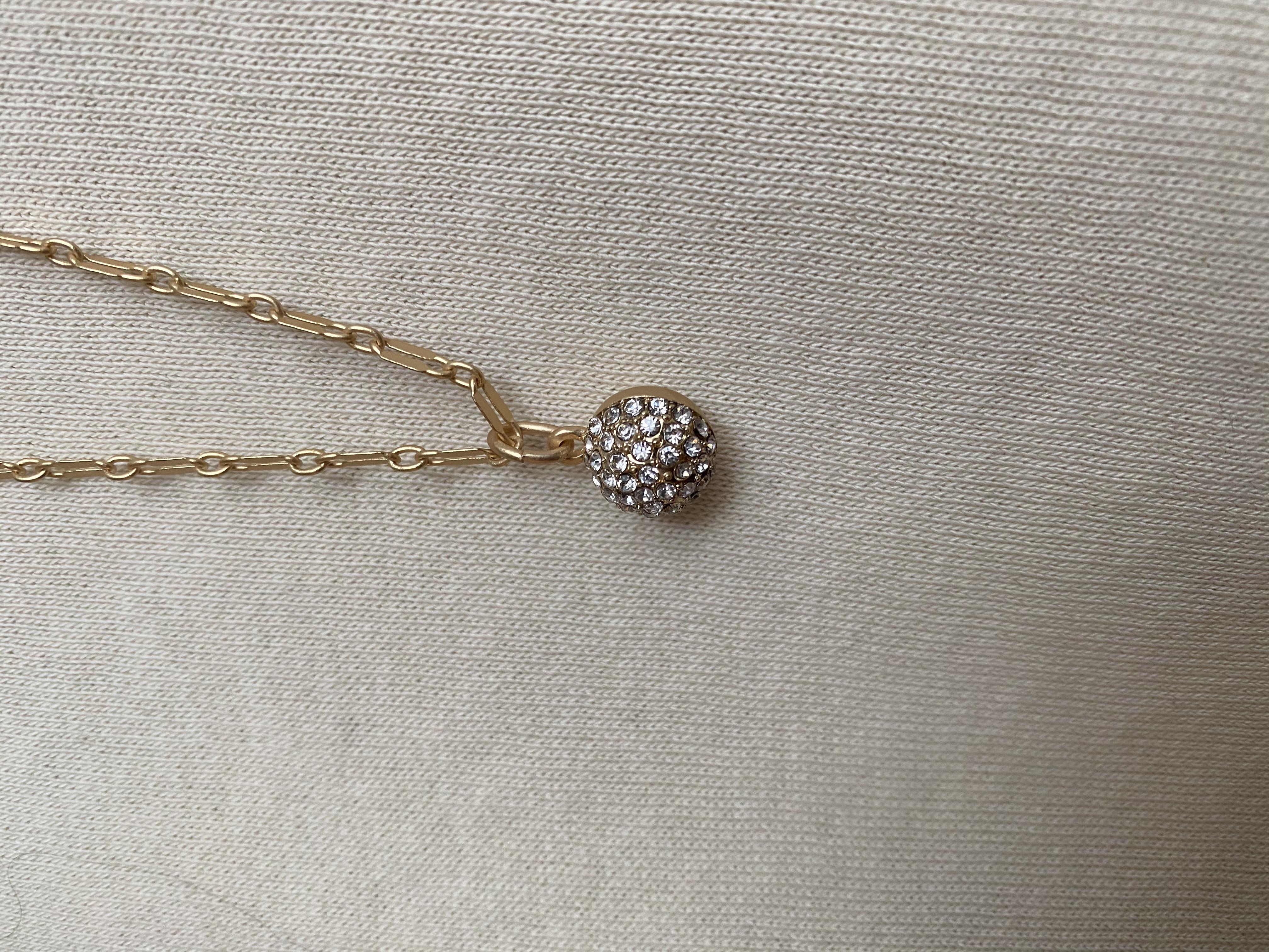 Halsband Mary, guld