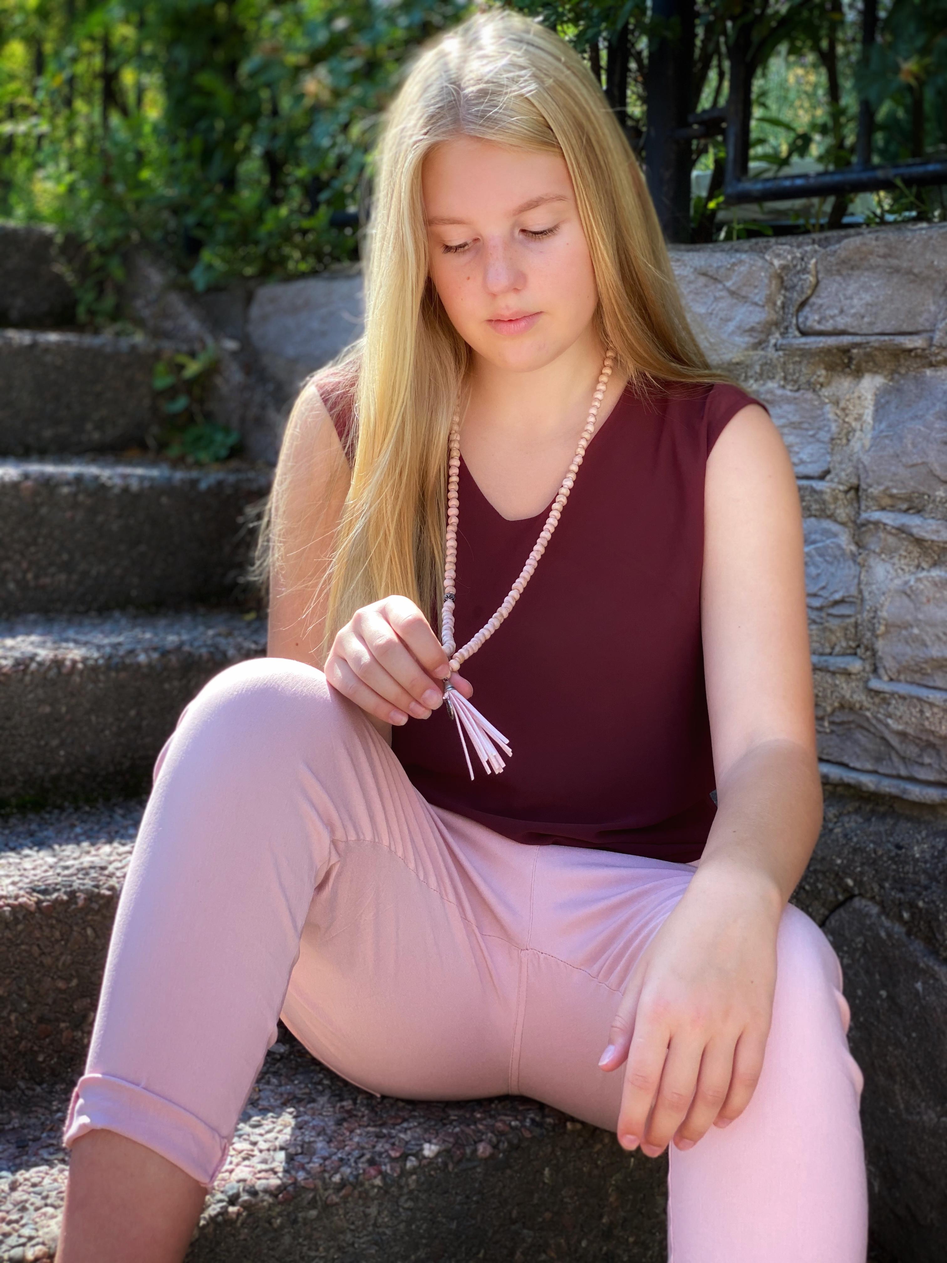 SIGNE Byxa med stretch - rosa