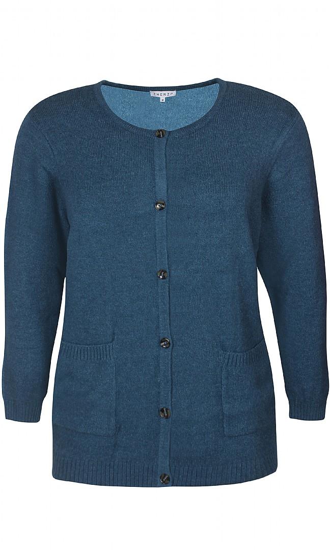 VITA cardigan, blå