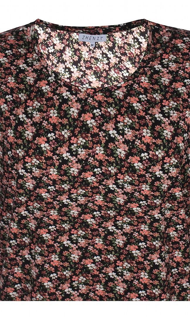 BITH834, blommig rosa