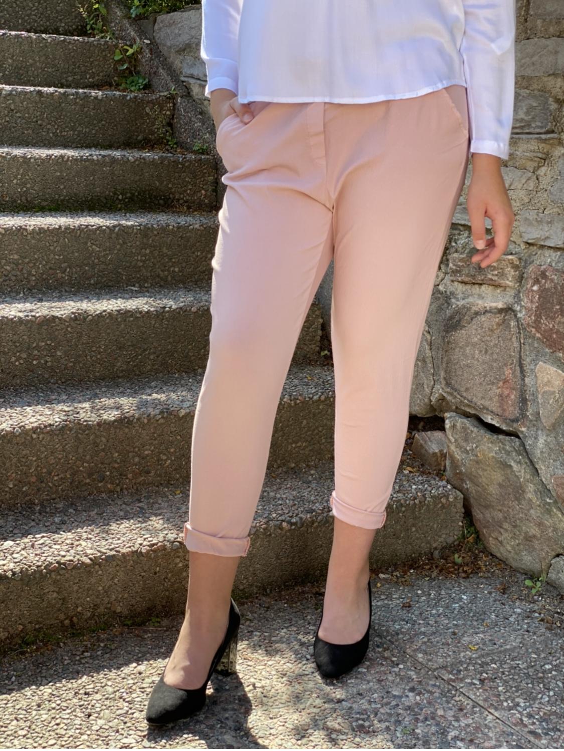 SIGNE stretchbyxa - rosa