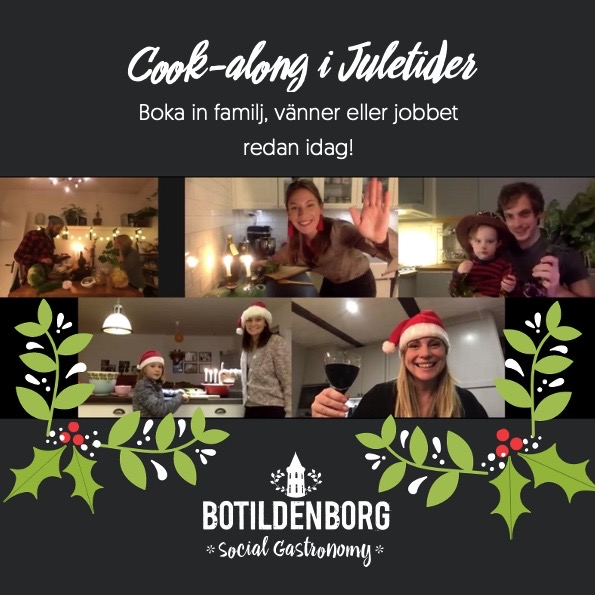 Digital Cook-along i Juletider