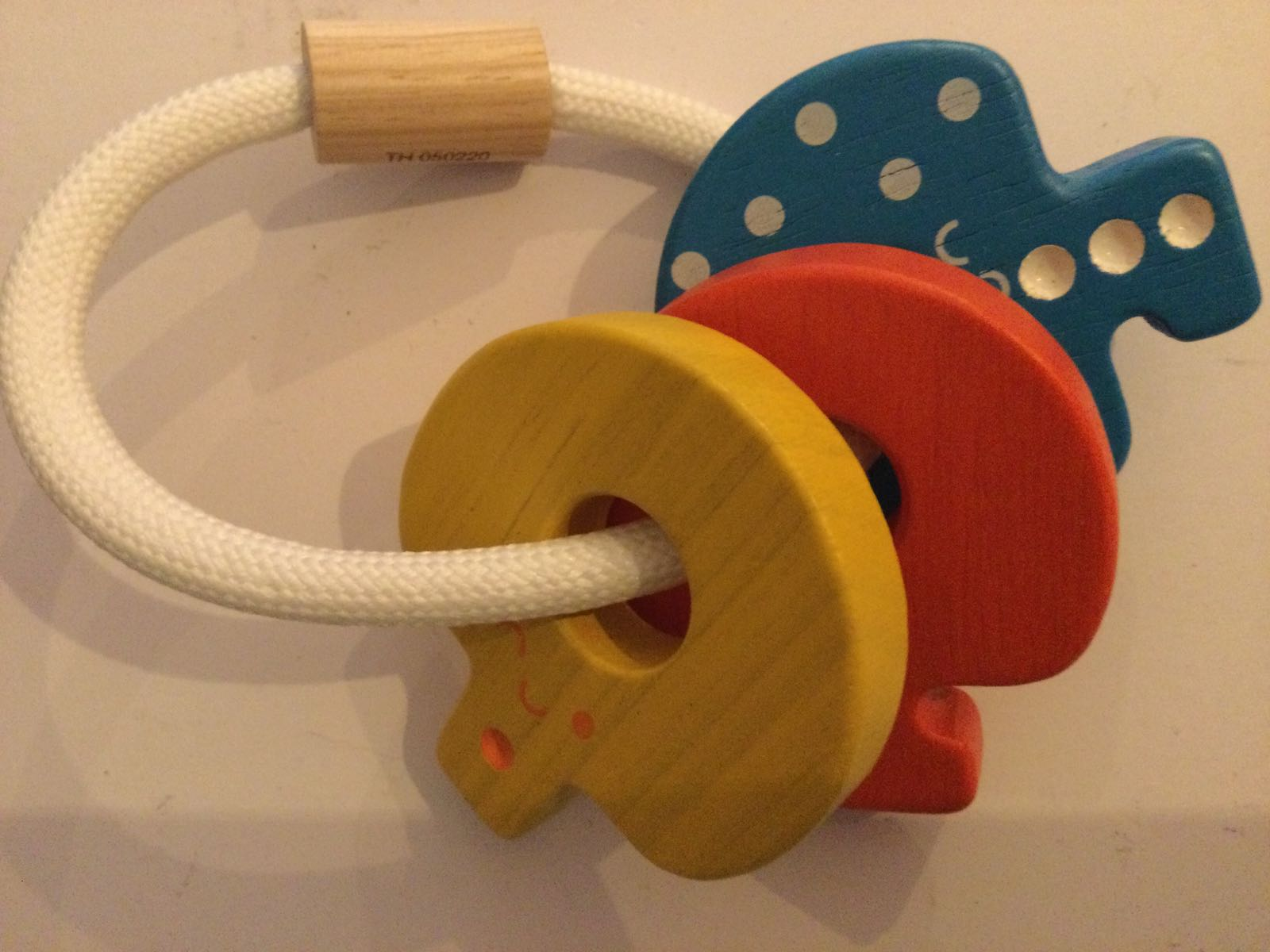 Plan toys -  Baby Kay rattle - Bright