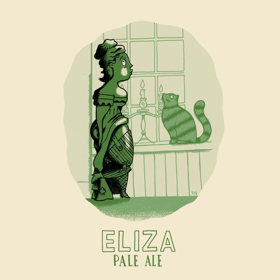 Dark Lanes Eliza Hoppy Pale