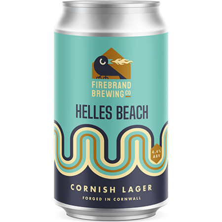 Firebrand Helles Beach Cornish Lager