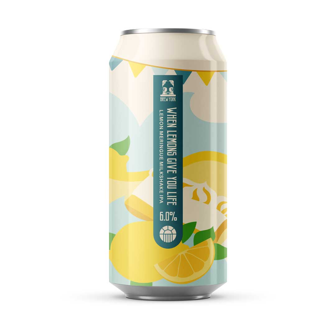 Brew York When Lemons Give You Life