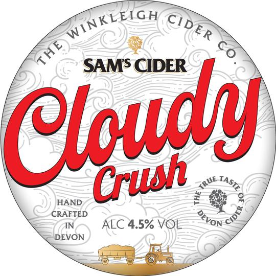 Sam's Cider Cloudy Crush