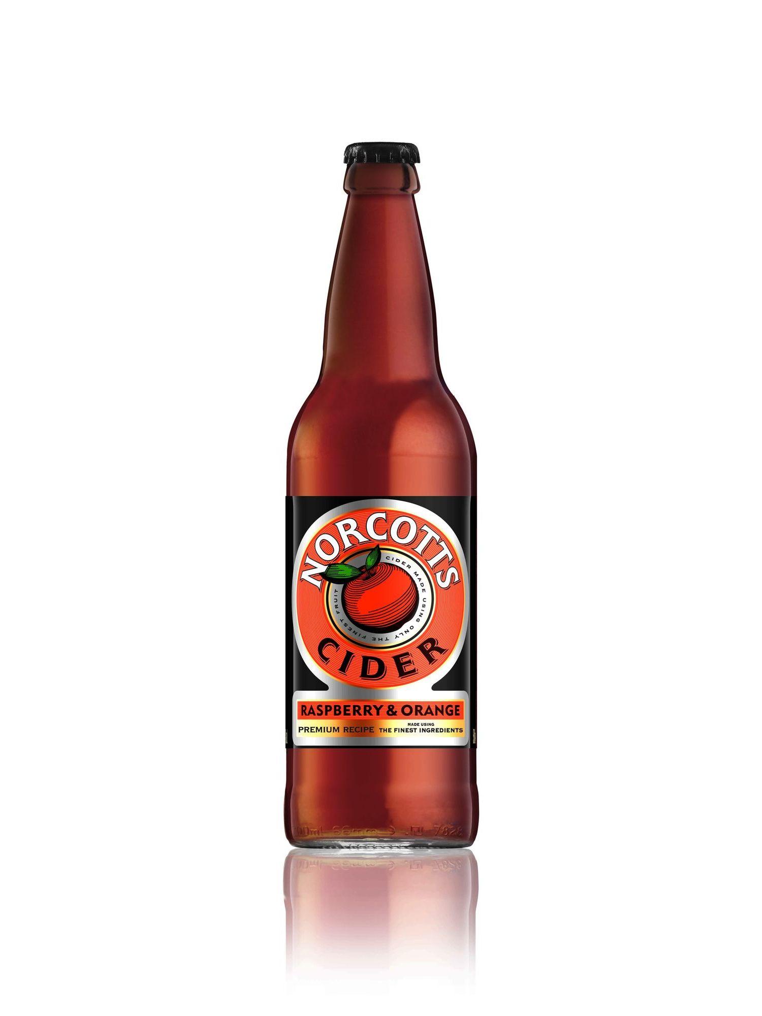 Norcott's Raspberry & Orange Cider