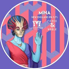 Masquerade Brewing Co. & Fierce & Noble Mina
