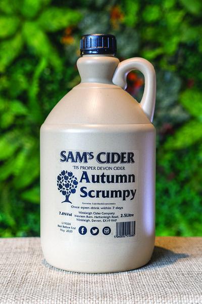 Sam's Cider Autumn Scrumpy 2.5ltr Jar