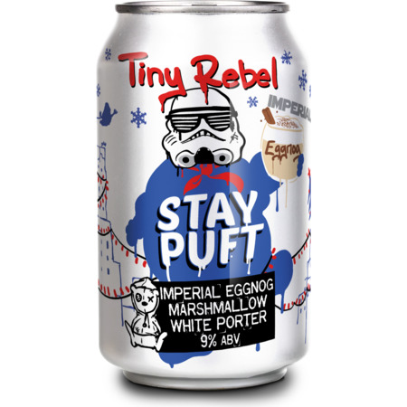 Tiny Rebel Stay Puft Imperial Eggnog Marshmallow Porter