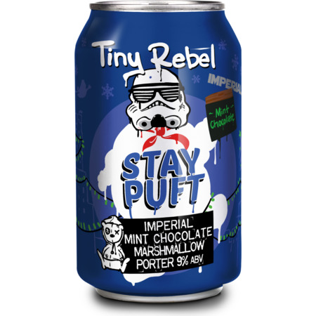 Tiny Rebel Stay Puft Imperial Mint Chocolate Marshmallow Porter