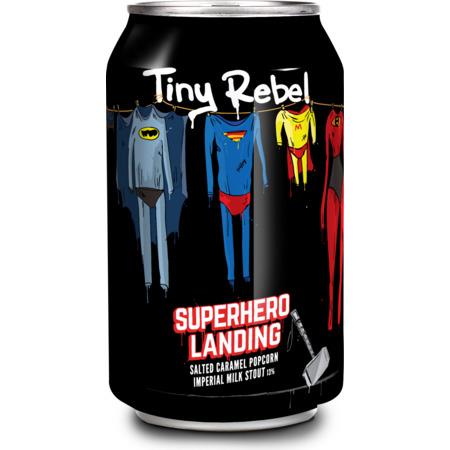Tiny Rebel Superhero Landing